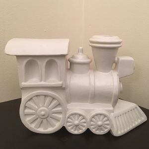 Accents - Ceramic Train Engine